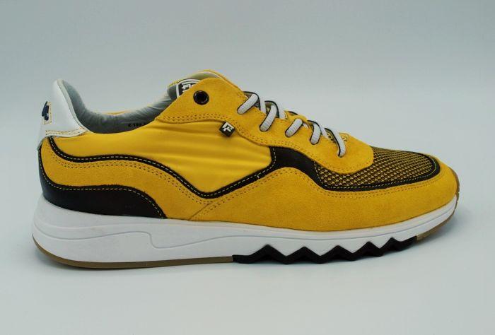 Sneaker 16392  Geel  Suede