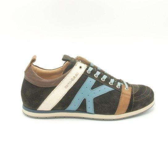 Sneaker Tifo 042 Donkerbruin Suede