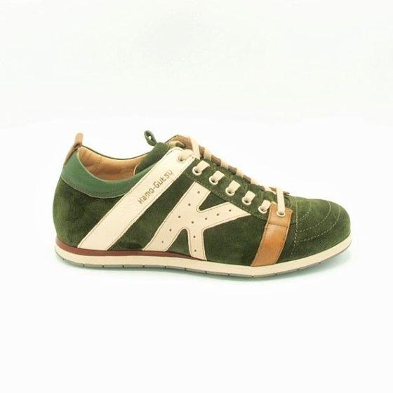 Sneaker Tifo 042 Groen Suede