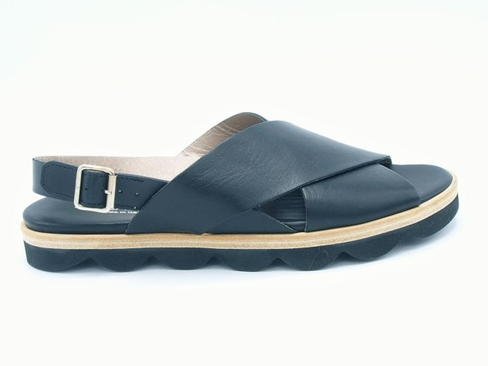 La Cabala Sandaal 608190  Zwart Leer